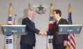 Mattis répondra de manière «écrasante» si Pyongyang utilise l'arme nucléaire