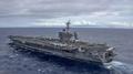 Possible participation de l'USS Carl Vinson à l'exercice militaire Séoul-Washing..