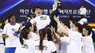 '이변은 없었다' 우리은행, 여자농구 5년 연속 통합 우승