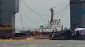 Le Sewol remonte à la surface de l'eau près de 3 ans après son naufrage