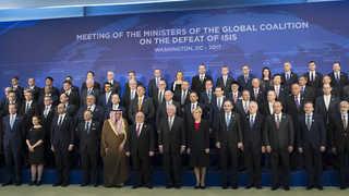 """전세계 68개국 'IS 대책회의'…""""IS격퇴 시간문제"""""""