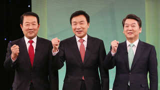국민의당도 호남혈투…安-孫-朴 25일 경선 앞두고 총력전