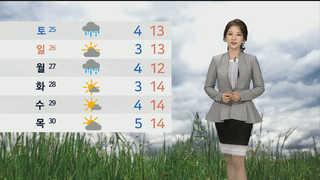 [날씨] 진도해역 소조기 마지막 날…중서부지역 미세먼지↑