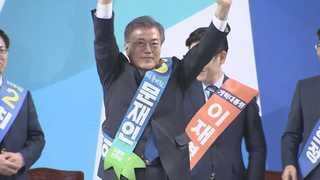 문재인, '야권 심장'서 압승…'대세론' 확인
