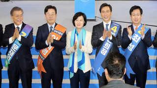 민주당, 오늘 충청 대전…대세론 굳히기 vs 역전 발판
