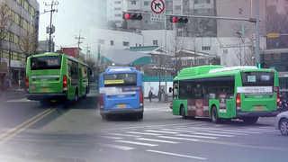 """""""안전운전 하세요""""…봄철 버스 불법운행 집중 단속"""