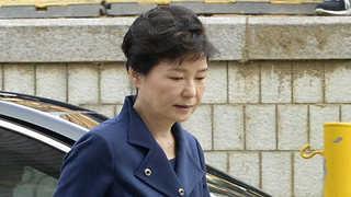 [영상구성] 영장실질심사 받는 박근혜 전 대통령
