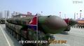 Corea del Norte revela lo que parece ser un nuevo ICBM en un enorme desfile mili..