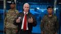 El vicepresidente estadounidense visita la DMZ en medio de las crecientes tensio..