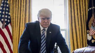 취임 100일 앞둔 트럼프 지지율 40%…1950년대 이후 '최악'