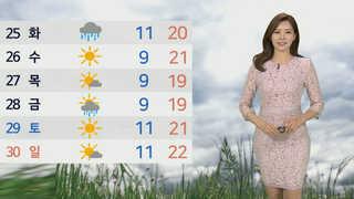 [날씨] 맑고 따뜻한 봄기운 '물씬'…서울 낮 최고 22도