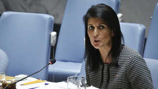 미 유엔대사, 북한 중대도발시 군사행동 시사