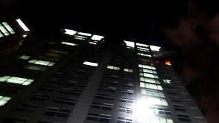 부산 학장동 아파트 20층서 불…인명 피해 없어