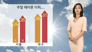 [날씨] 미세먼지 농도 '나쁨'…주말 때이른 더위