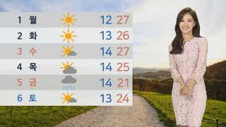 [날씨] 내일 올 들어 가장 더워…전국 곳곳 대기질 '나쁨'