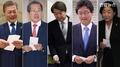 (مراكز الاقتراع)المرشحون الرئاسيون الخمسة الأوائل يدلون بأصواتهم