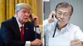 Moon et Trump conviennent de maintenir une coopération rapprochée sur la Corée d..