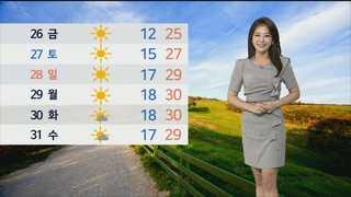 [날씨] 전국 하늘 맑음…자외선 지수ㆍ오존↑