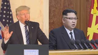 """트럼프 '대북정책 4대기조'…""""최종 대화 해결"""""""