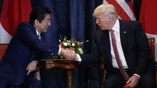 """트럼프 """"북핵 적절 시점 해결…내기해도 좋다"""""""