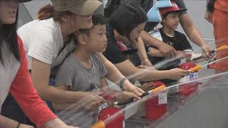 한국소방안전협회, 안전체험 가족캠핑 실시
