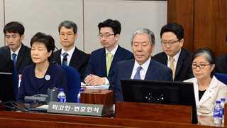 박근혜-최순실 두 번째 법정 재회…'삼성합병 반대' 주진형 증인신문