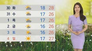 [날씨] '햇볕 쨍쨍' 한여름 더위…강한 자외선 주의