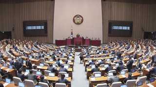 文정부 첫 임시국회 개회…이낙연 인준안 진통