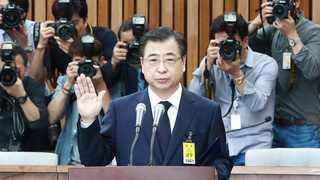 [인사청문회] 서훈 국정원장 후보자 선서 및 모두발언