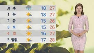 [날씨] 더위 계속 '서울 28도ㆍ대구 32도'…미세먼지 주의