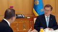 Moon logra el apoyo y consejo del ex secretario general surcoreano de la ONU