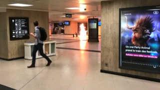 """[현장영상] 벨기에 브뤼셀 중앙역서 폭발…""""테러 공격 간주"""""""