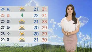 [날씨] 어제보다 더 덥다…자외선ㆍ오존 '주의'