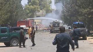 아프간 은행 앞 자폭테러…36명 사망ㆍ59명 부상