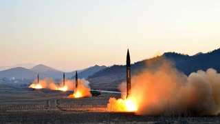 """미 관리 """"북한 로켓엔진 발사 시험…ICBM용 최소형 엔진 가능성"""""""