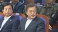 Moon inspecciona un nuevo misil en una aparente advertencia a Corea del Norte