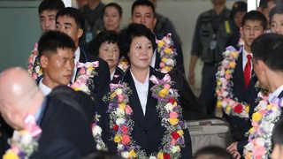 [현장연결] 북한 주도 ITF 태권도 시범단 10년만에 방한