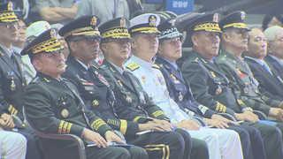 """67주년 6·25 기념식…""""북, 비핵화의 길로 나와야"""""""