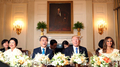 Moon y Trump sostienen el primer encuentro en una cena en la Casa Blanca