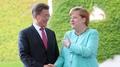 Moon et Merkel s'engagent à renforcer la coopération commerciale et sur la Corée..
