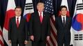 زعماء الدول الثلاث يعتزمون فرض عقوبات أشد على كوريا الشمالية