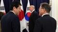 Los líderes de Corea del Sur, EE. UU. y Japón acuerdan endurecer las sanciones d..