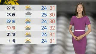 [날씨] 볕 뜨거워요…서쪽 33도↑ 폭염 기승