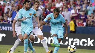 [해외축구] '이적설' 네이마르 결승골…바르셀로나, 맨유에 1-0 승
