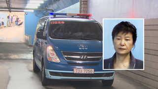 '발가락 통증' 박 전 대통령, 병원 찾아 정밀검사
