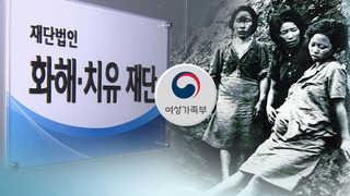 위안부 10억엔 집중 점검…화화해치유재단 해산되나