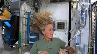[토픽영상] 우주인의 머리 감는 방법…'정말 개운할까?'