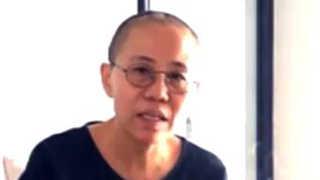 류샤오보 부인 한달만에 근황 영상 공개