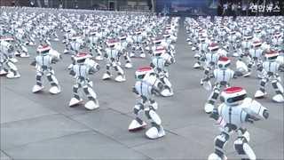 [토픽영상] 로봇 1천69대 로봇의 환상적 '칼군무'…기네스 신기록 세워