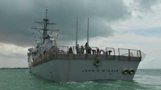 美 해군, 이지스함 잇단 사고로 일시 작전중단…감시체계 공백 우려